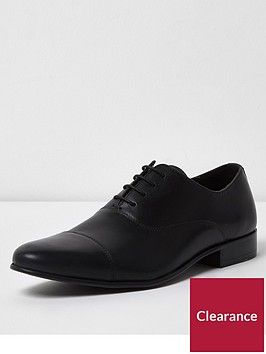 river-island-black-leather-toe-cap-oxford-shoes