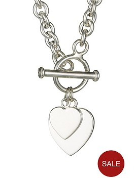 the-love-silver-collection-elements-sterling-silver-double-heart-t-bar-pendant