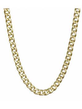 love-gold-9-carat-yellow-gold-appox-13oz-solid-diamond-cut-curb-chain