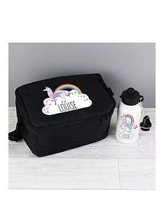 personalised-unicorn-drinks-bottle-and-lunch-bag