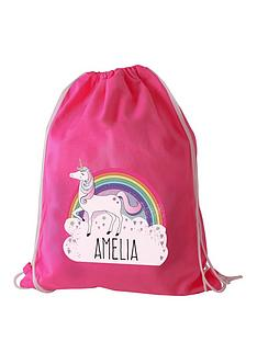 personalised-unicorn-swim-amp-kit-bag