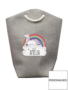 personalised-unicorn-storage-bag