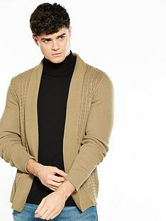 river-island-lightweight-cable-cardigan