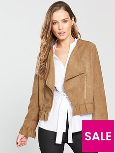 coast-giulianbspfaux-suede-jacket-tan