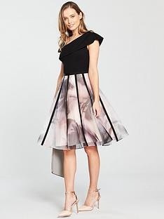 coast-maude-organza-stripe-dress