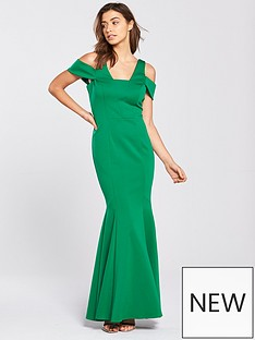 coast-revel-scuba-maxi-dress-green