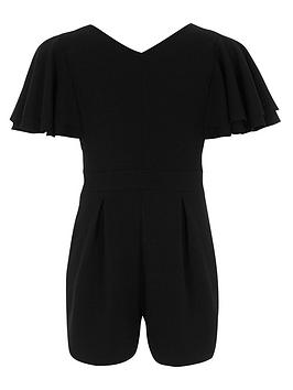 river-island-girls-black-frill-sleeve-v-neck-playsuit