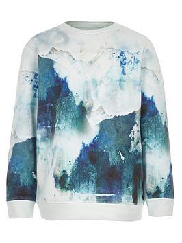 river-island-girls-blue-smudge-printed-sweat