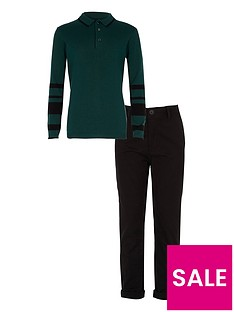river-island-boys-green-polo-shirt-and-chinos-outfit