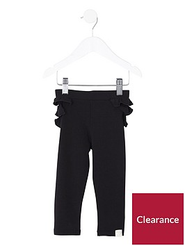 river-island-mini-girls-black-ruffle-back-leggings