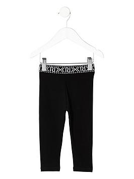 river-island-mini-girls-black-ri-print-waistband-leggings
