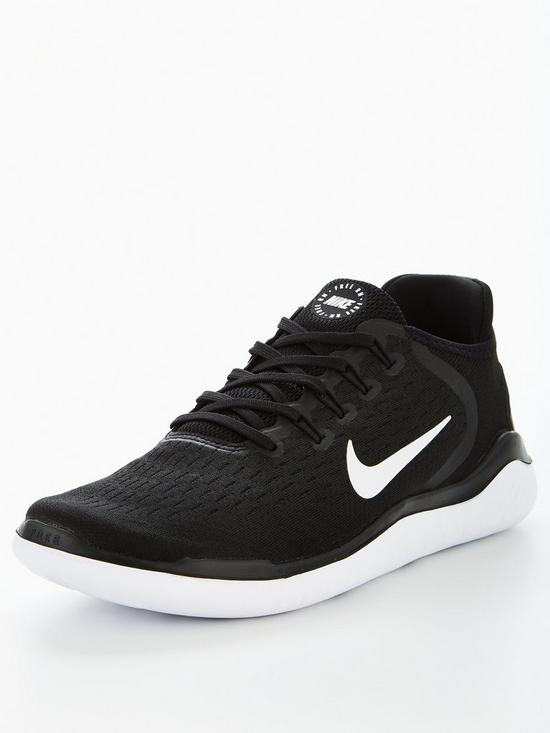 27cce26db5a Nike Free Rn 2018 Trainers - Black White