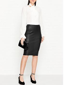 by-malene-birger-floridia-leather-pencil-skirt-black