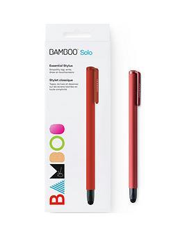 wacom-bamboo-gen-4-solo-stylus-for-kindle-fire-ipad-pro-ipadipad-mini-windows-tablet-and-samsung-galaxy-red