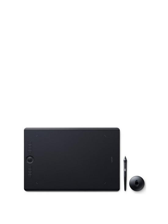 Intuos Pro Pen Tablet  Large Professional Graphic Tablet inc Wacom Pro Pen  2 Stylus with Replacement Tips / Compatible with Windows & Apple