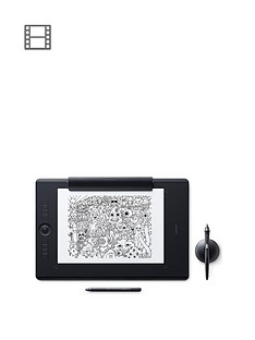 wacom-intuos-pro-paper-edition-pen-tablet-medium-professional-graphic-tablet-incnbsppaper-clip-wacom-pro-pen-2-with-replacement-tips-amp-wacom-finetip-pen-compatible-with-windows-amp-apple