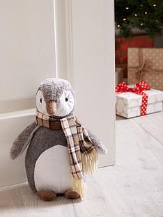 plush-penguin-door-stopper-christmas-decoration