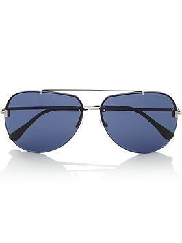 tom-ford-mens-brad-aviator-sunglasses-silver