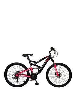 Muddyfox Molotov Dual Suspension Ladies Bike 18 Inch Frame