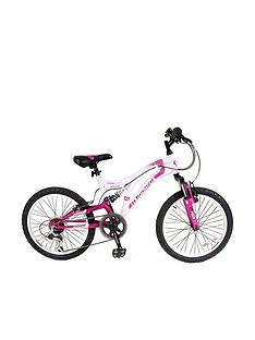 Muddyfox Radar Dual Suspension MFX Girls Bike 20 inch Wheel