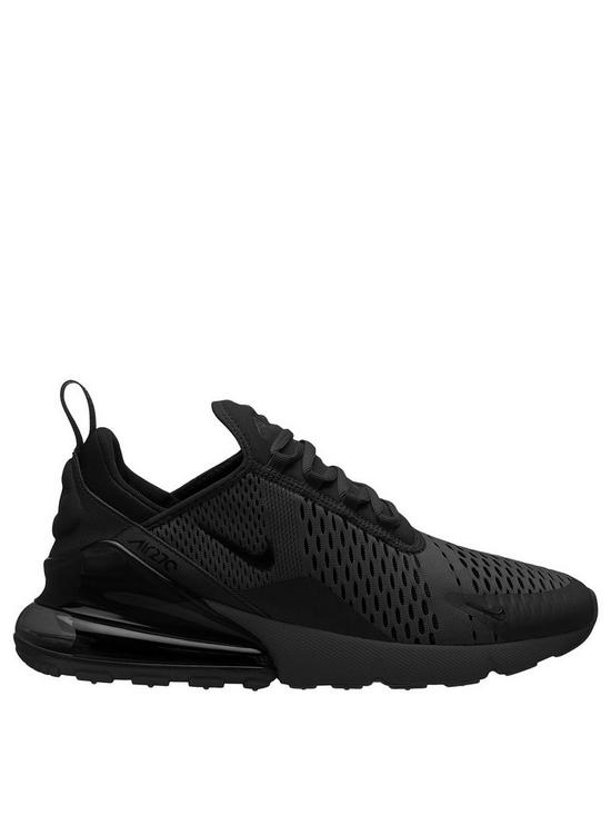 best sneakers a3a5d cf647 Nike Air Max 270 - Black