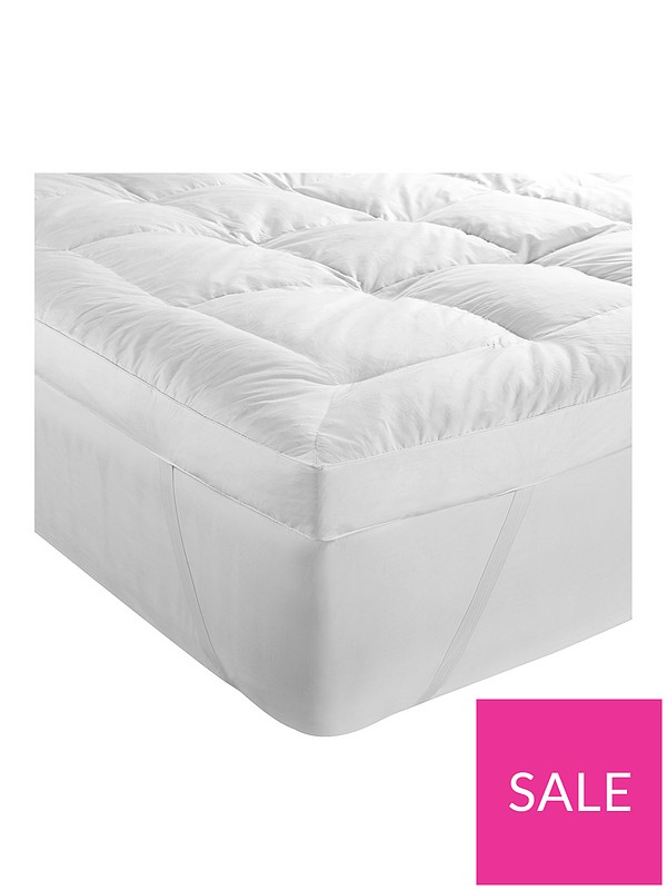 uk availability c2e4d 683ef Duck Feather and Down 5cm Mattress Topper