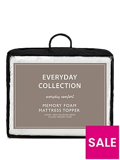 everyday-collection-memory-foam-25-cm-mattress-topper