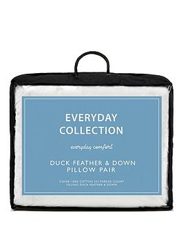 Everyday Collection Duck Feather And Down Pillows (Pair)