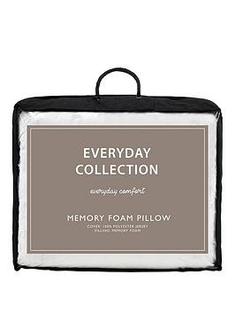 Everyday Collection Memory Foam Pillow