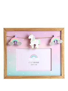 unicorn-mdf-photo-frame-6x4