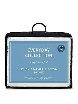 Everyday Collection Duck Feather And Down 10.5 Tog Duvet