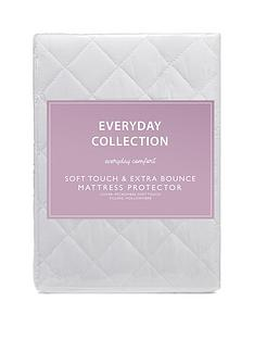 everyday-collection-everyday-soft-touch-amp-extra-bounce-mattress-protector