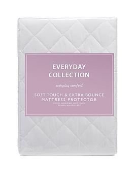 everyday-collection-soft-touch-amp-extra-bounce-mattress-protector-ks