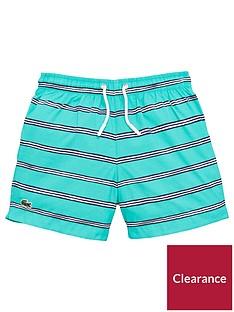 lacoste-boys-stripe-swimshorts