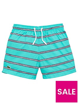 lacoste-boys-stripe-swimshorts
