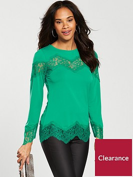 v-by-very-lace-insert-top-jade
