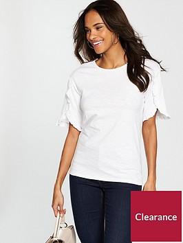 v-by-very-ruffle-sleeve-detail-t-shirt-white
