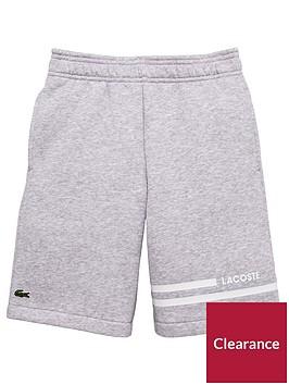 lacoste-sports-boys-sport-classic-fleece-short