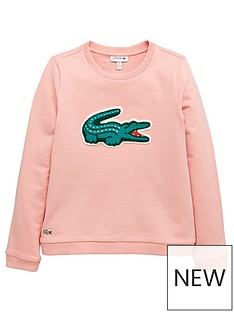 lacoste-girls-logo-sweatshirt