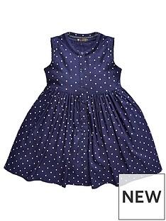 mini-v-by-very-girls-navy-spot-shirt-dress