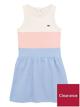 lacoste-girls-stripped-pique-dress