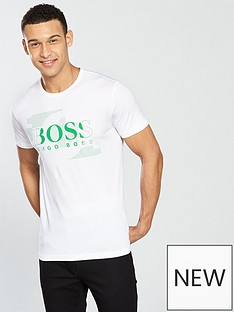 boss-green-embossed-logo-t-shirt