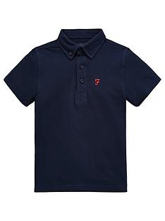 farah-boys-short-sleeve-jersey-polo