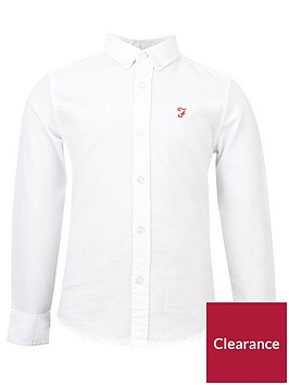 farah-boys-long-sleeve-oxford-shirt