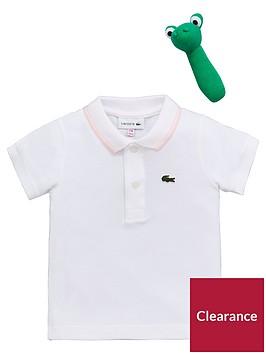 lacoste-baby-girl-pique-polo-gift-set