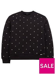 diesel-girls-star-studded-sweatshirt