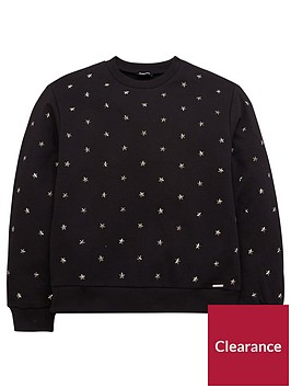 diesel-girls-star-studded-sweatshirt