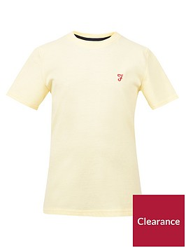 farah-boys-short-sleeve-sunbleached-t-shirt