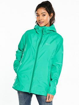 Jack Wolfskin Sierra Pass Waterproof Jacket - Green