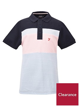 farah-boys-short-sleeve-pique-polo